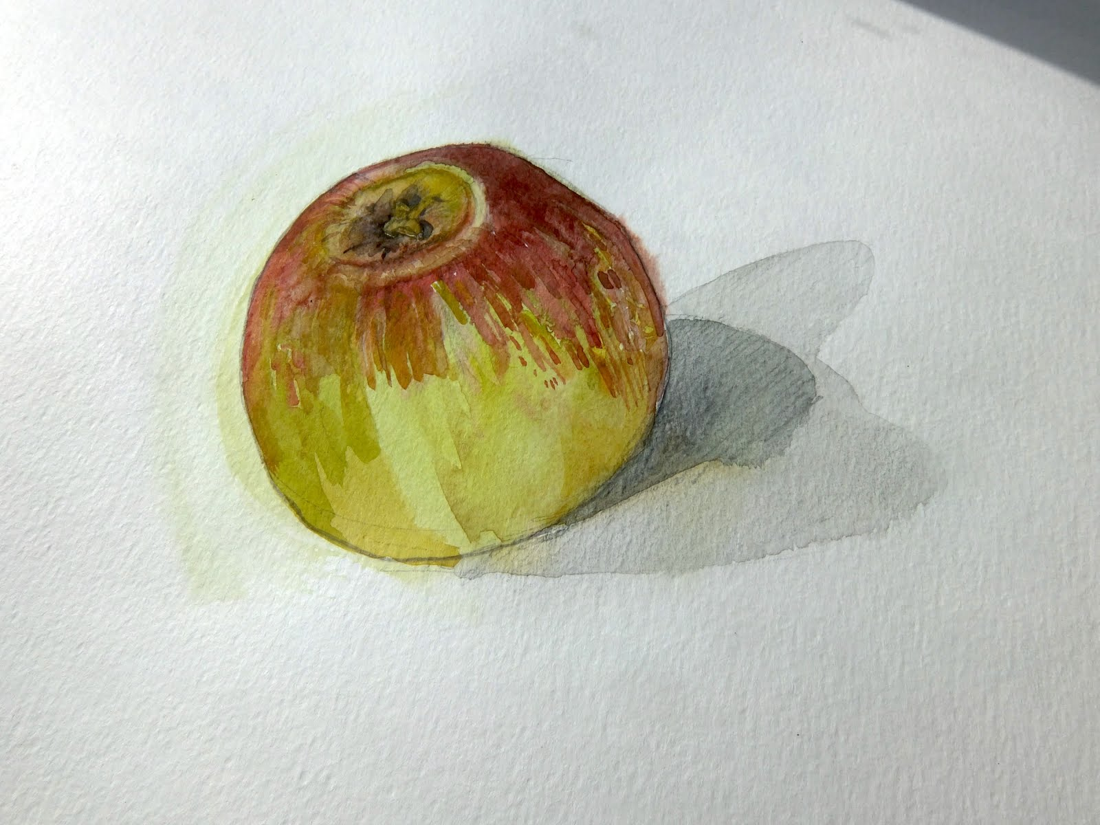 VIDEO How to draw an apple