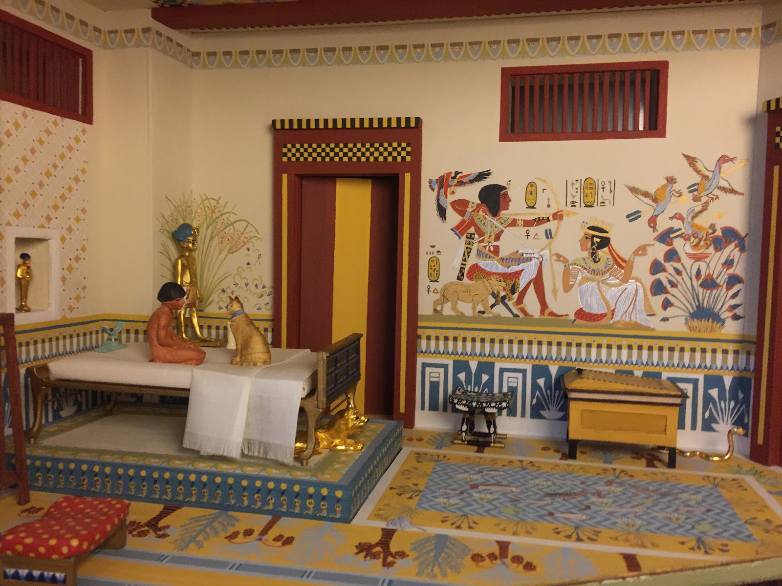 It 39 s the little things five miniature rooms in 1 12 scale for Egyptian decor ideas