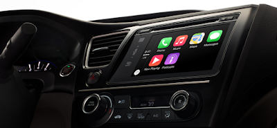basic view of how carplay looks