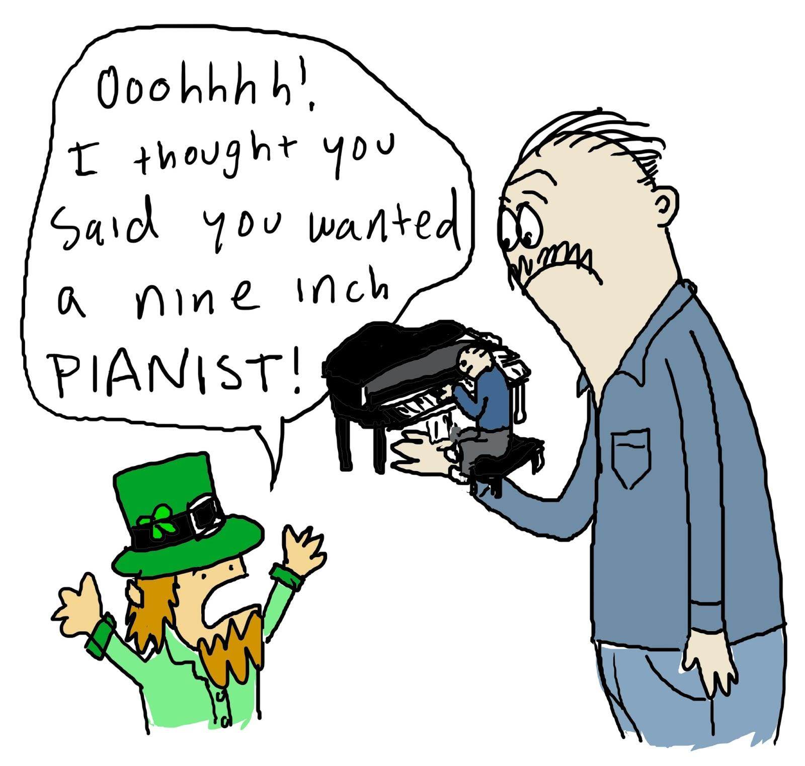 12 inch pianist joke