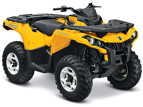 2013 Can-Am Outlander DPS 1000 ATV pictures. 480x360 pixels