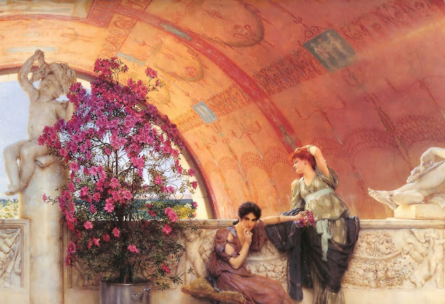 spring,Lawrence Alma Tadema,5 stars