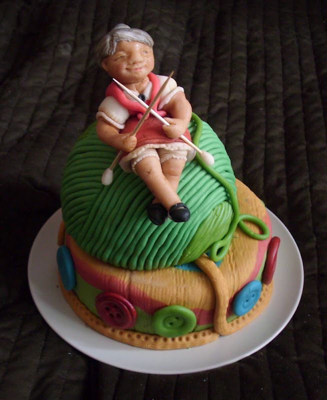 Cake Design For Grandma : 1000+ images about Grandmother cake on Pinterest Grandmothers, Cakes and Hobbies