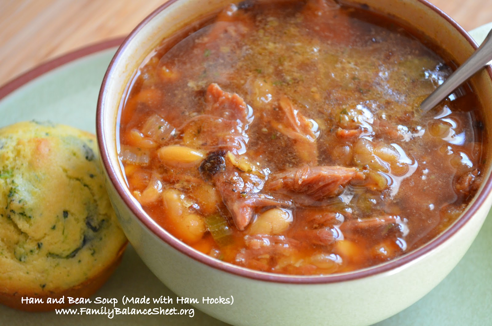 Ham and Bean Soup (Made with Ham Hocks) - Family Balance Sheet