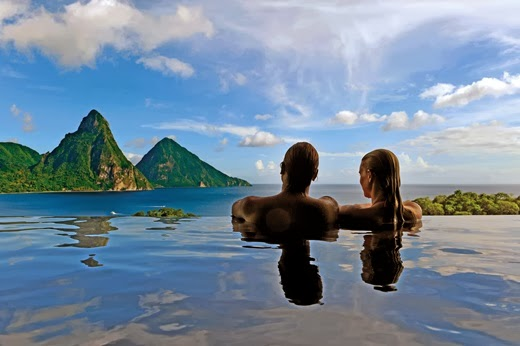 10 places to honeymoon for the year 2014 St Lucia country