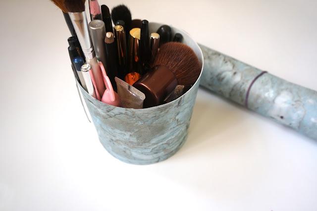 chloeschlothes - DIY marbre maquillage
