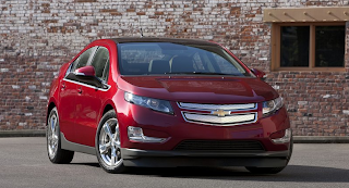 2011 Chevrolet Volt red