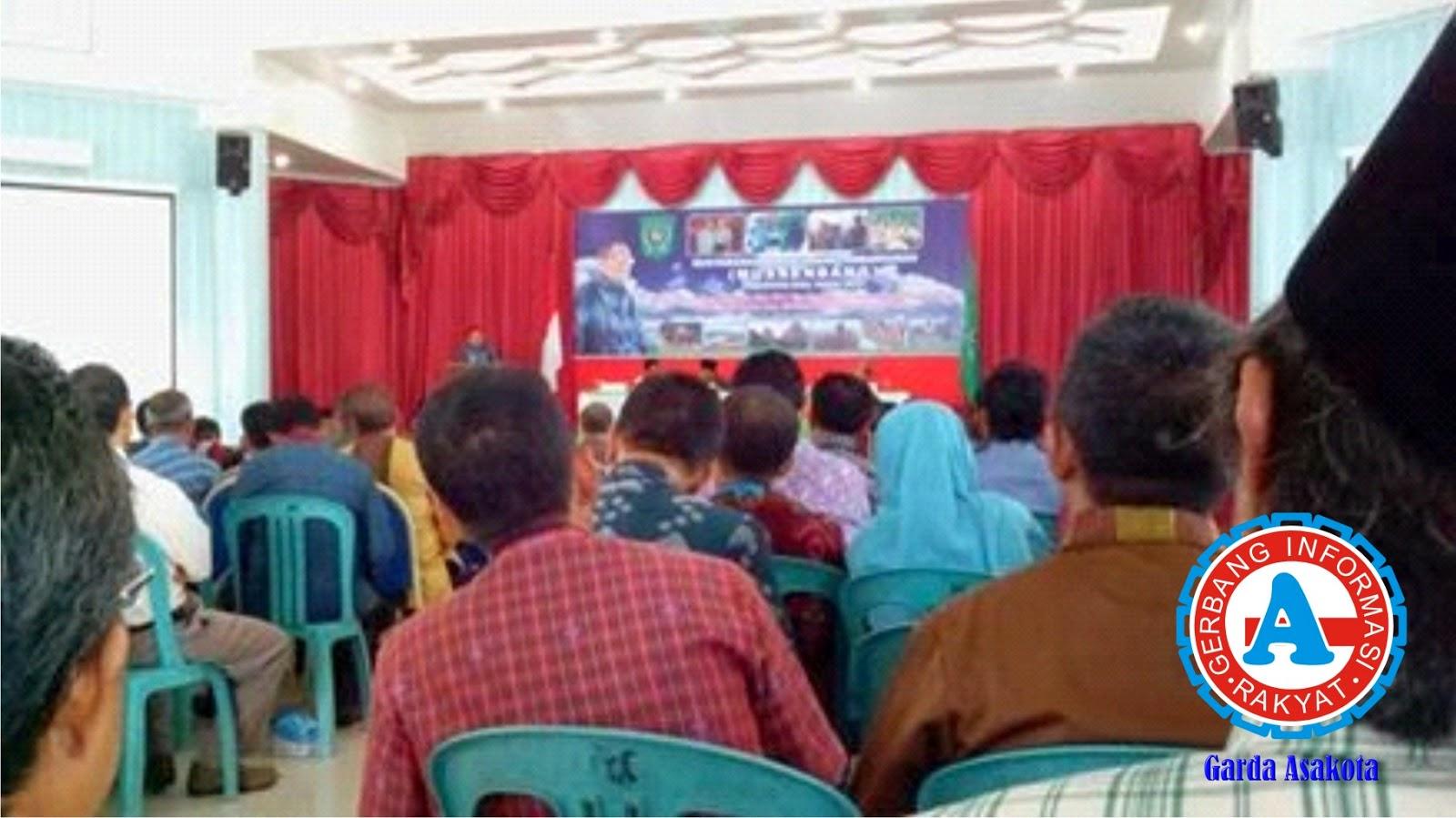 Musrenbang tingkat Kabupaten Bima Dihelat di Gedung Conventional Hall