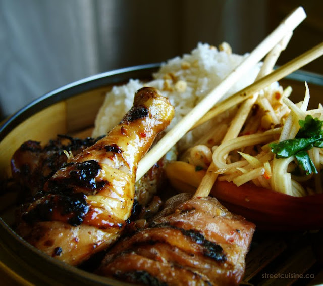 Ping Gai - Laotian Grilled Chicken