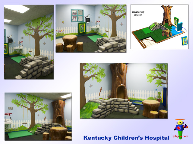 Hopsital play area, children hospital, Tuff Stuff Soft Sculpted Foam Play for Shopping Centers Iplayco Playground Equipment Manufacture Design Install Worldwide