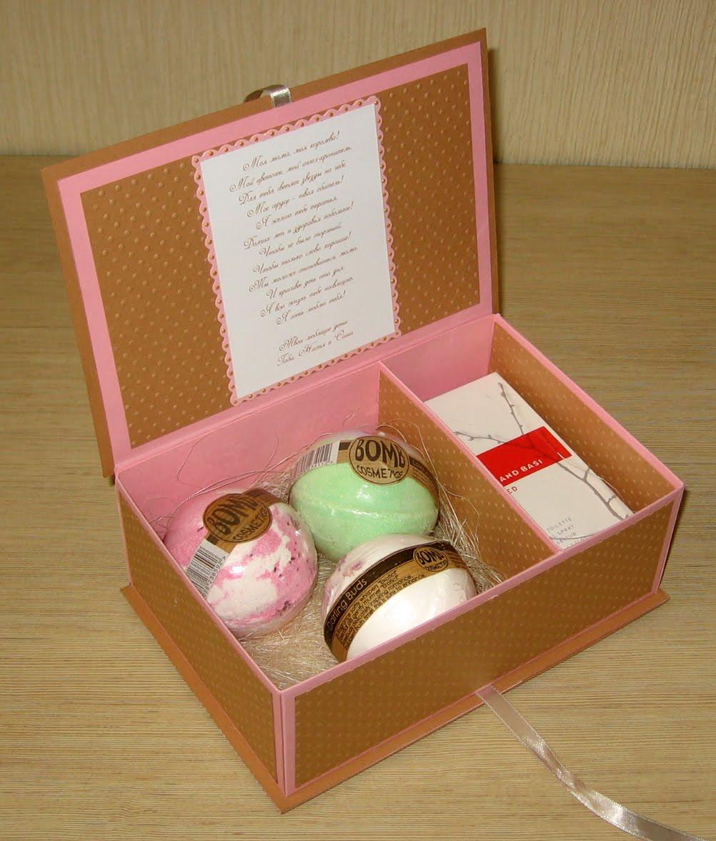 Подарок для мамы на день рождения своими руками шкатулка