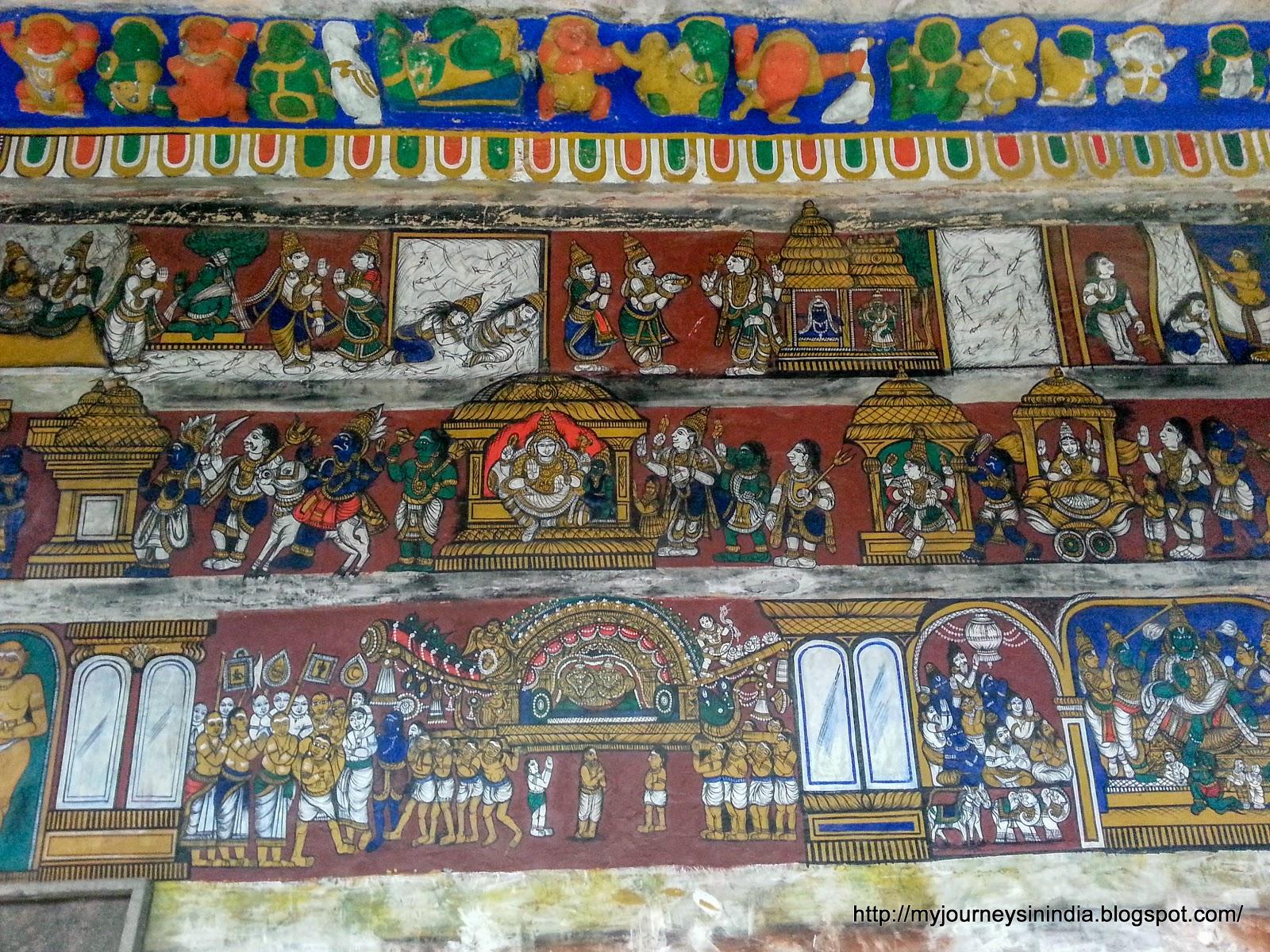 Tiruvaiyaru Aiyarappar Temple Murals