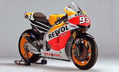 Bentuk Motor Repsol Honda Dari Masa Ke masa
