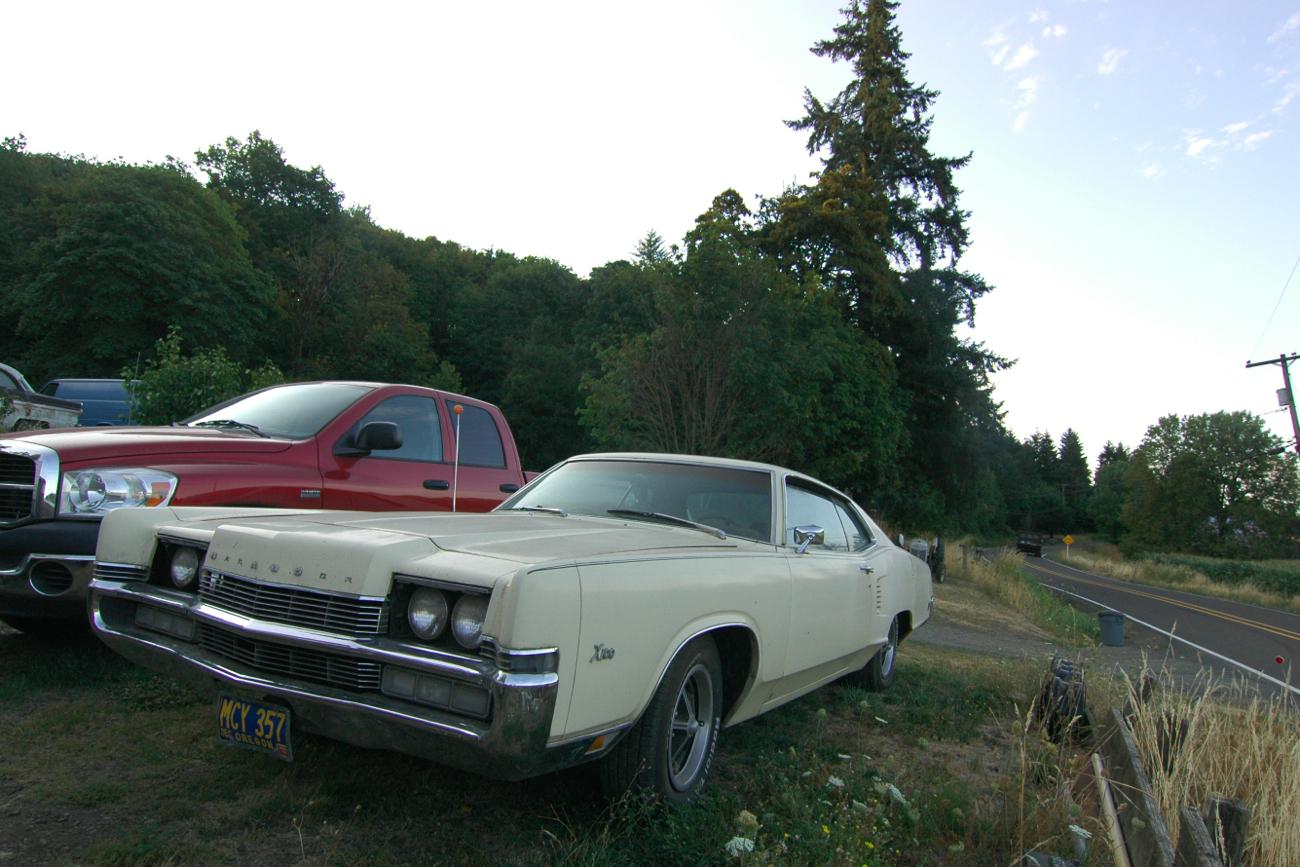 old parked cars 1969 mercury marauder x 100. Black Bedroom Furniture Sets. Home Design Ideas