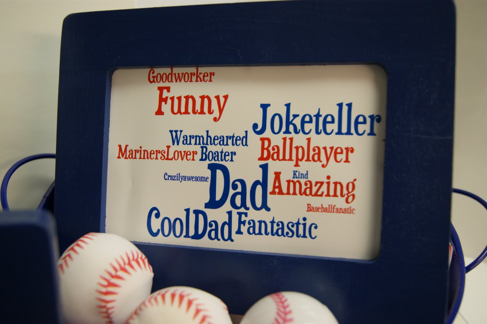 Word Clouds for Father's Day