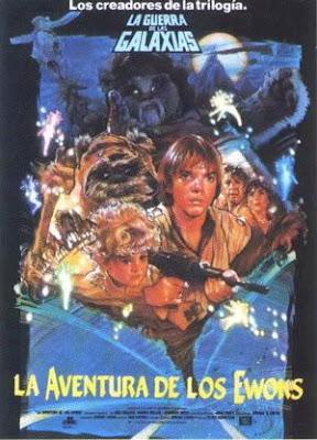 La aventura de los ewoks, George Lucas, Warwik Davis, Star wars
