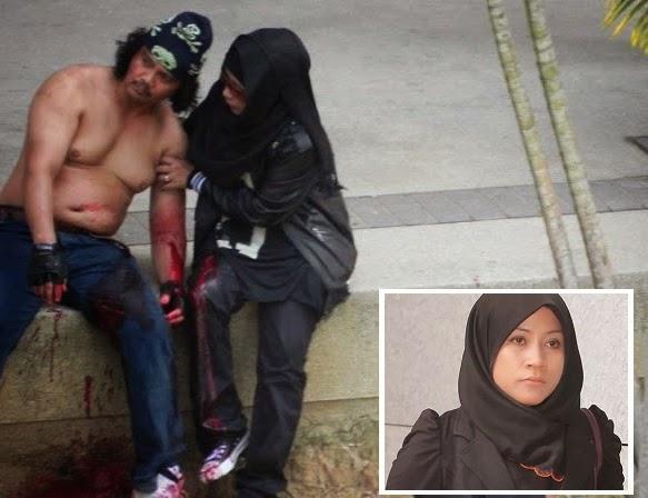 Gempar Wanita amuk di Putrajaya lari dari Hospital