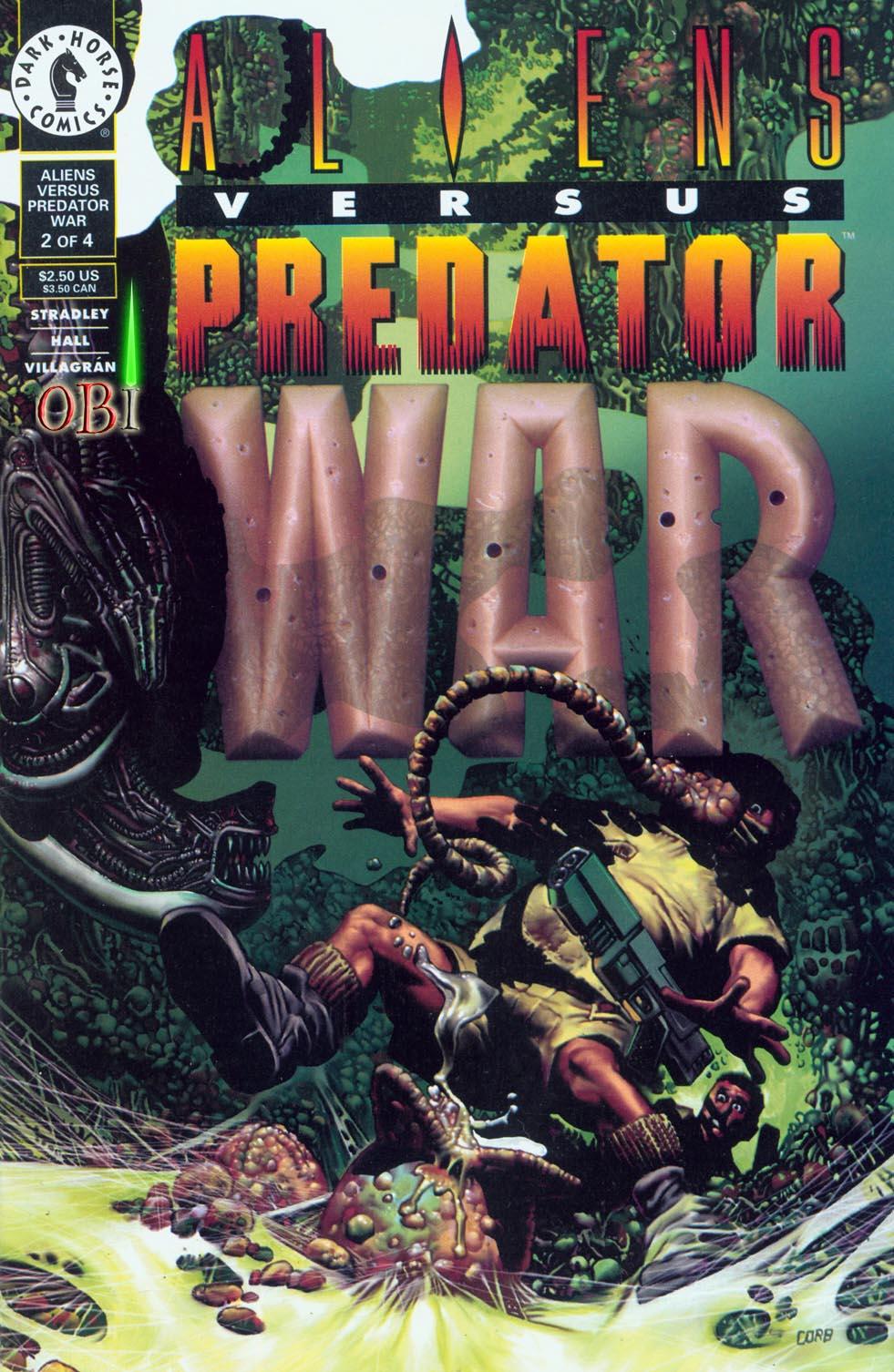 Aliens vs. Predator: War 2 Page 1