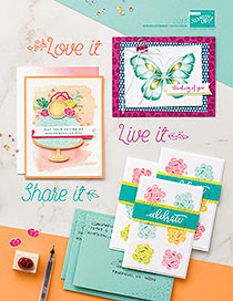 View the Stampin' Up Spring Summer Catalogue