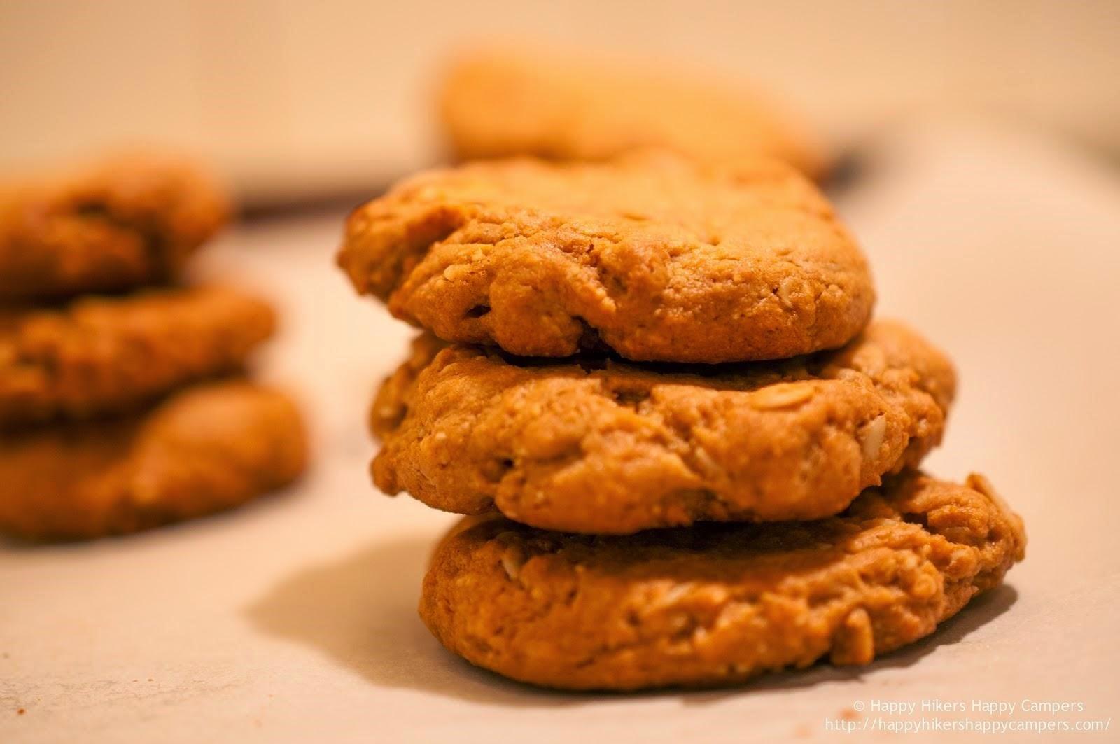 Polka Dot Peanut Butter Oatmeal Cookies (Gluten Free)