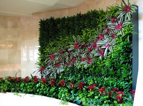 mini jardim vertical : mini jardim vertical:Vertical Wall Garden Idea