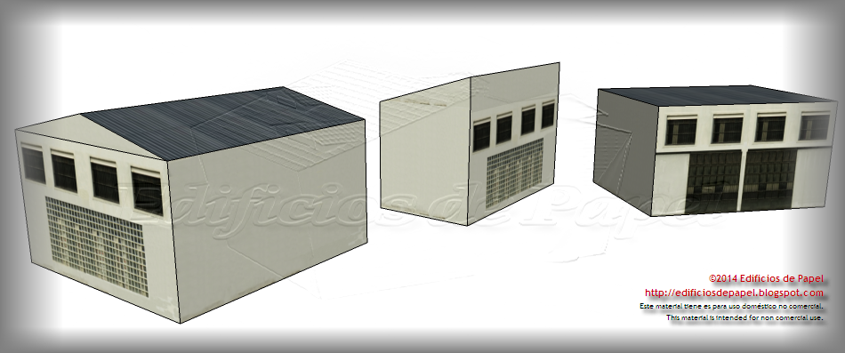 New façade combination for the Steel Plant paper model