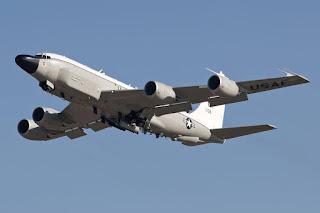 Pesawat Pengintai RC-135 Amerika Serikat