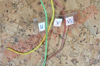 Oznaczenie przewodów - mnie wyszło tak :-)