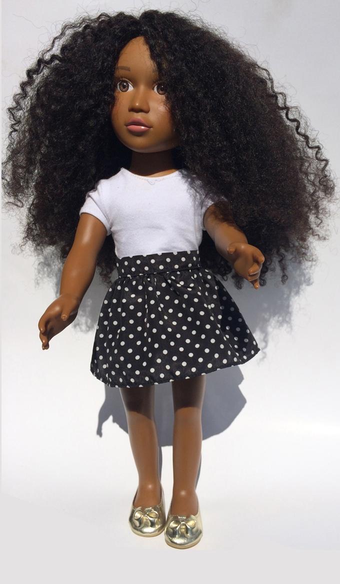 La Poupée Noire Angelica Doll