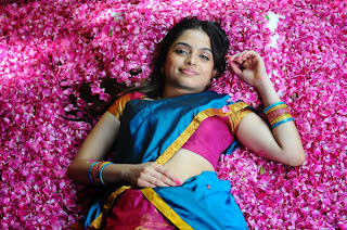 Sheena Shahabadi Hot Half Saree Photos Stills Gallery