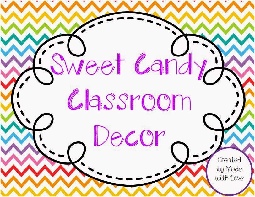 http://www.teacherspayteachers.com/Product/Sweet-Candy-Theme-Classroom-Decor-1337181