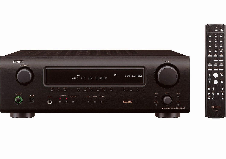 Denon dra 500ae stereo receiver audiobaza for What to dra