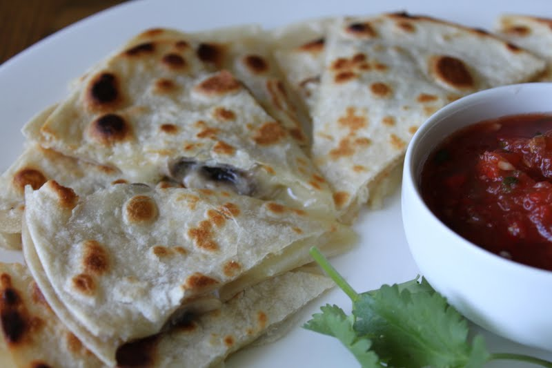 Mushroom Quesadillas | Meatless Meals for Meat Eaters