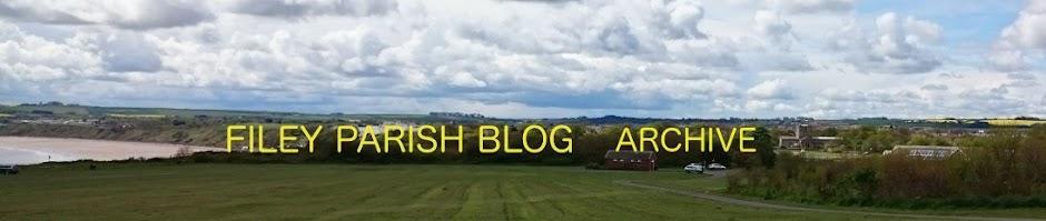 Filey Parish Blog Archive