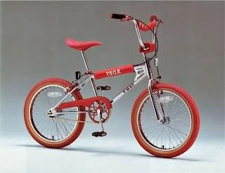Red BMX 1984