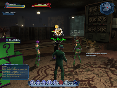 DC Universe Online - Protecting The Riddler