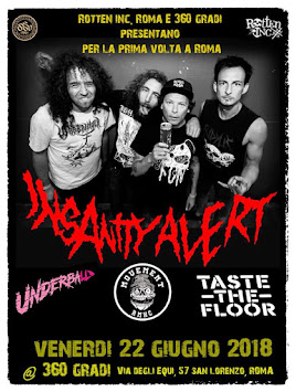 LIVE REPORT - INSANITY ALERT+TASTE THE FLOOR+UNDERBALL+MOVEMENT