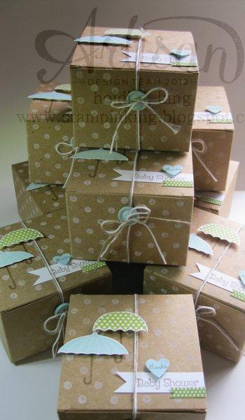 Baby Gift Packing Ideas : Stampin king artisan wednesday wow
