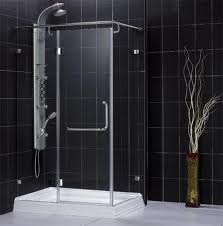 Black Modern Shower Cabin