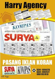 Pasang Iklan Surat Kabar