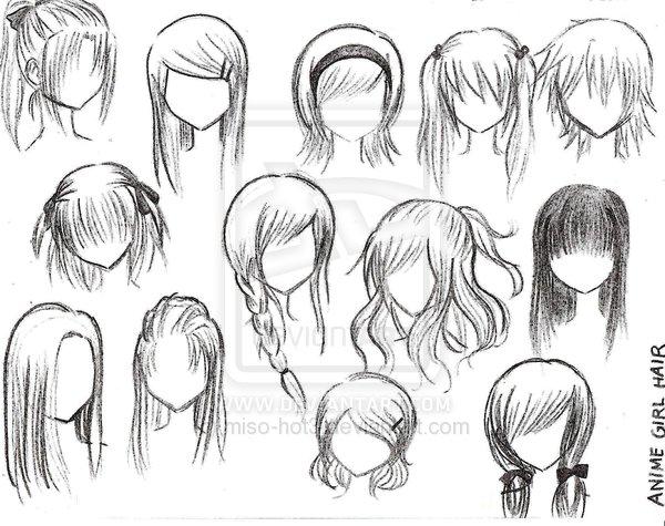 draw cartoon with hair