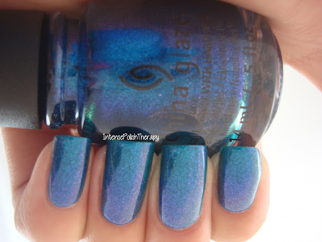 China Glaze - Blue Iguana