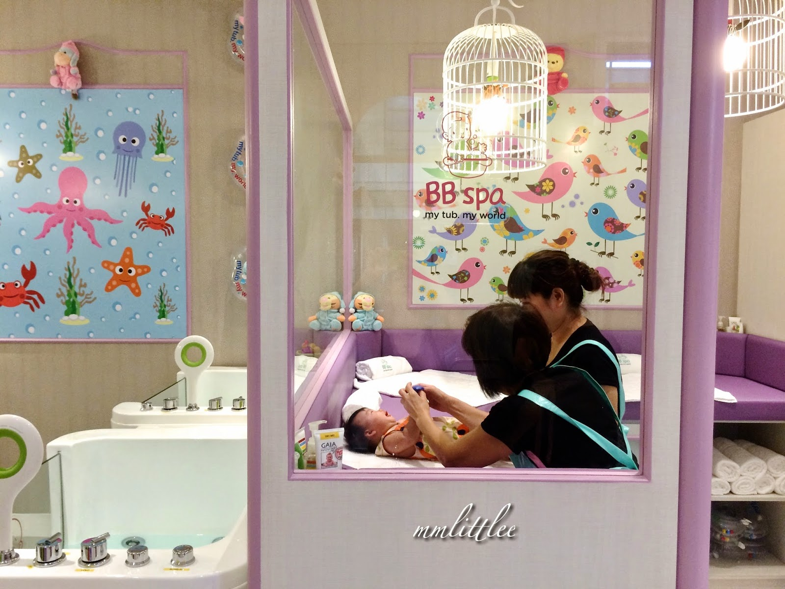 Pampering the Baby   a million little echoes