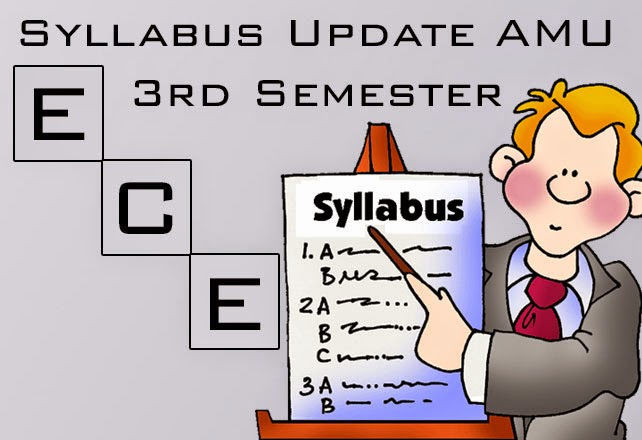 AMU B.Tech 3rd sem syllabus for ece