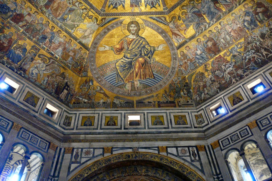 Interior del Battistero di San Giovanni