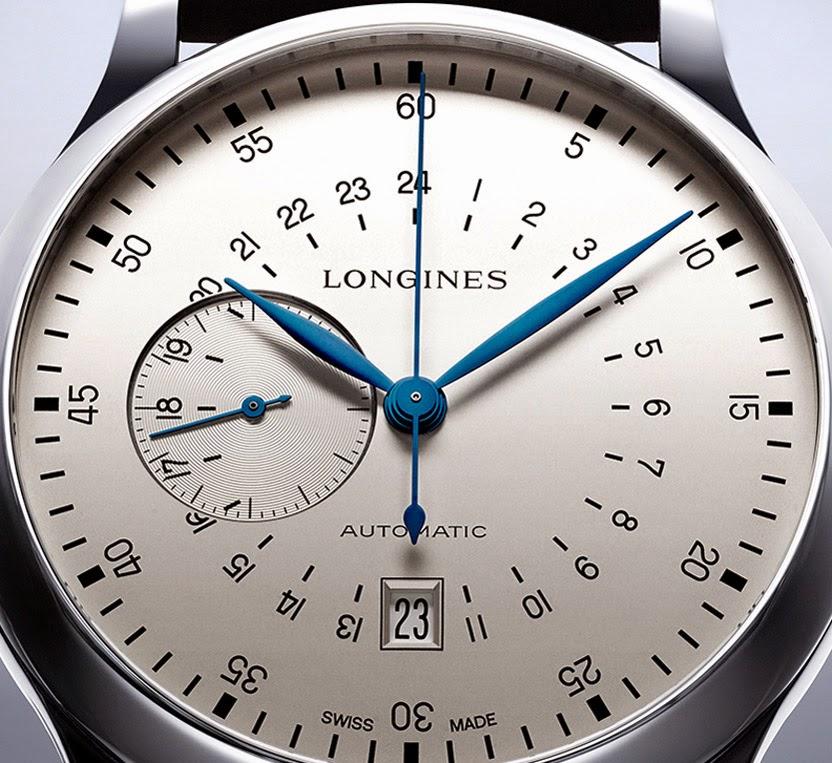 Longines - Chrono Longines Twenty-Four Hours Single Push-Piece Longines-Twenty-Four-Hours-Single-Push-Piece-ChronographL2.797.4.73.0_dial