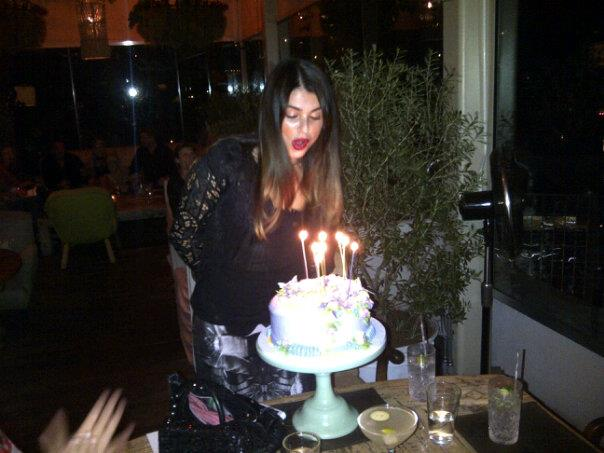 My good friend Aimee Osbourne in my Spined collection for her birthday