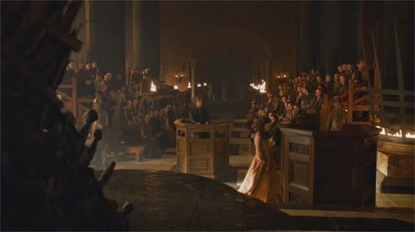 """Shae y Tyrion en """"Juego de Tronos 4x06"""""""