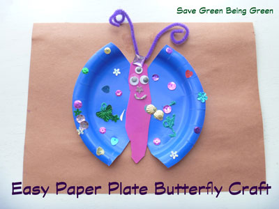 Try It Tuesday Easy Paper Plate Butterflies