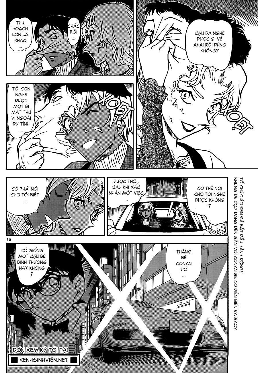 Detective Conan - Thám Tử Lừng Danh Conan chap 852 page 17 - IZTruyenTranh.com